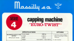 Massilly Serie 4 Capping Machine